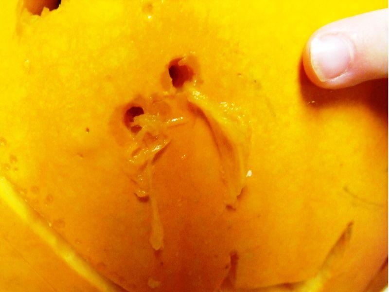 Pumpkin boogers