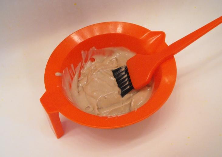 Hair dye bowl