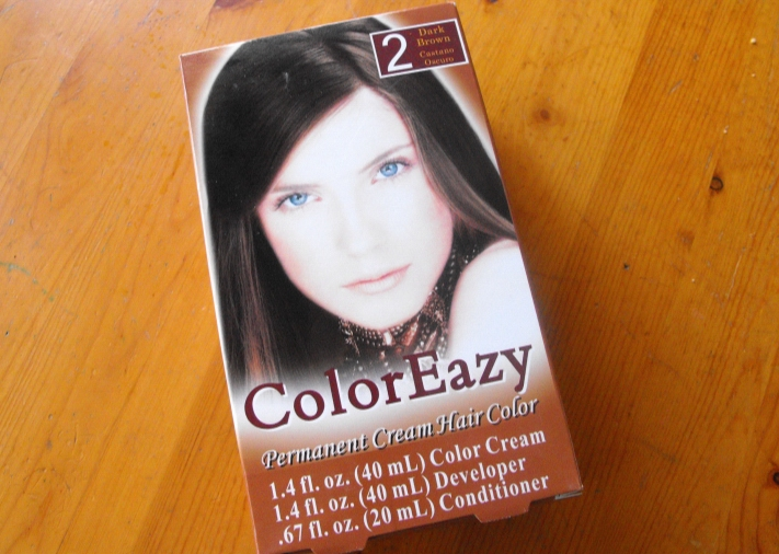 Hair color box