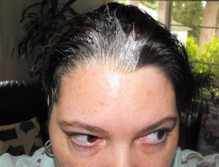 Hair dye on